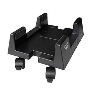 ewent EW1290 PC Case support, Support for PC Case with Lockable Wheels, Adjustable Width £9.89 (Prime) + £4.49 (non Prime) at Amazon