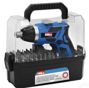 Hilka 3.6V Li-ion Cordless Screwdriver Kit - £19.99 with Free Click and Collect (Delivery £4.95) @ Robert Dyas