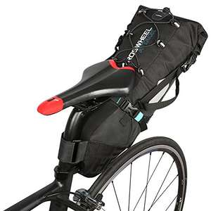 Lixada Bicycle seat bag Waterproof Bike Bag Bicycle Saddle Bag 3 10 litres - £13.99 (+£4.49 nonPrime) Sold by Docerlay & Fulfilled by Amazon