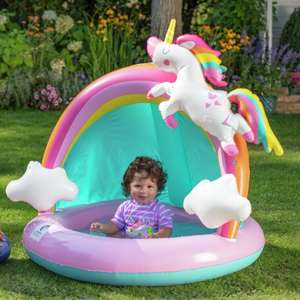 Chad Valley Unicorn Baby Paddling Pool £15 click & collect @ Argos
