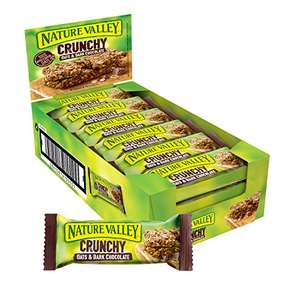 Nature Valley Crunchy Oats and Chocolate Cereal Bars 18 x 42g / Oats & Honey 18 x 42g £3.60 (+£4.49 non prime) @ Amazon
