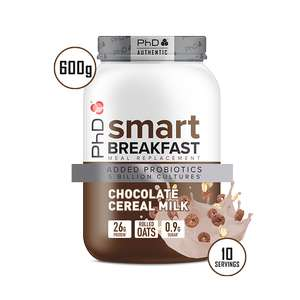 50% off and free delivery with code e.g. Smart Breakfast £7.50 at PhD Nutrition