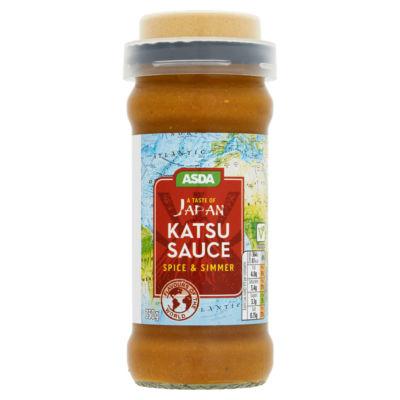 Asda brand Katsu Curry sauce 350g (spice & simmer) £1.10 Instore deal at Asda Burnden Park