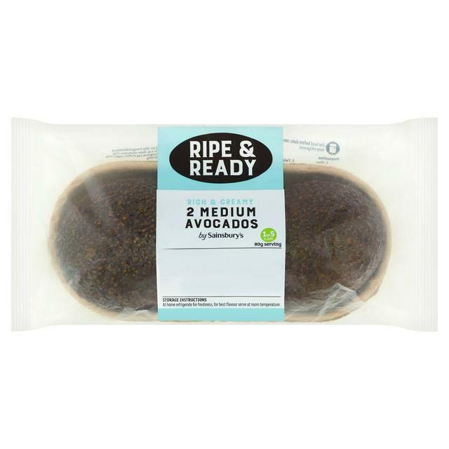 Sainsbury's Medium Ripe & Ready Avocados x2 - £1.25 @ Sainsbury's