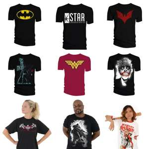 T-Shirts at £5.99 Each Delivered (UK Mainland) - The Flash, Batman, Joker & Others @ Forbidden Planet