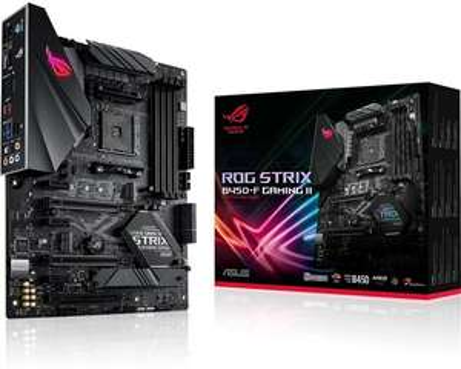 ASUS ROG Strix B450-F Gaming II PCIe 3.0 ATX Motherboard AMD Socket AM4 AMD B450 Chipset - £79.99 delivered @ Box