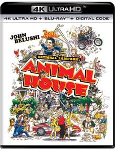 National Lampoon's Animal House 4K Ultra HD + Blu-ray + Digital - 4K UHD £14.43 Dispatched from and sold by Amazon US.