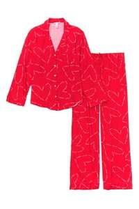Victoria's Secret Cotton Printed Flannel Long PJ Set - £24 with free Click and Collect @ Victoria's Secret