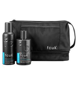 Fcuk Grooming Wash Bag Gift Set £7.50 + £1.50 Click and collect (Free with £15.00 Spend ) From Boots