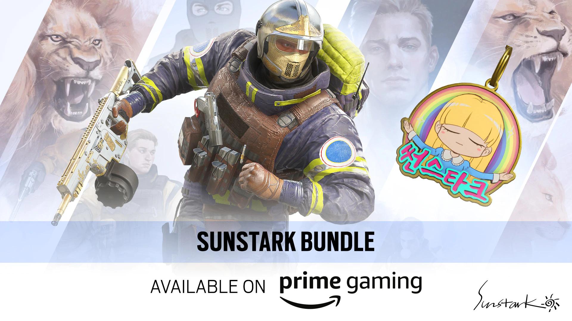Sunstark Operator Bundle : Rainbow Six Siege (PC & Console) Free @ Amazon Gaming via Ubisoft Store