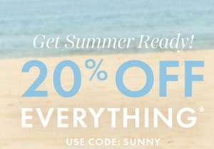 20% off Everything with voucher code From Sosandar