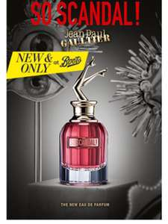 Free Jean Paul Gaultier Perfume sample @ Boots Sampling