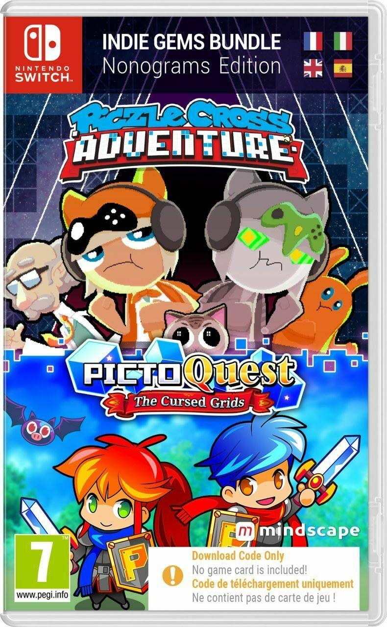 Piczle Cross Adventure & Picto Quest Puzzle CODE-IN-A-BOX (Nintendo Switch) - £4.99 delivered @ boss_deals / eBay