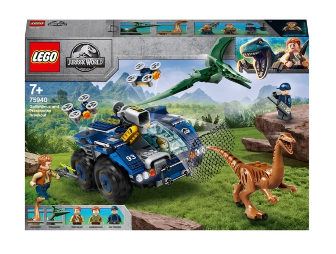 LEGO 75942 Jurassic World Velociraptor Biplane Rescue £19.99/ 75940 Pteranodon Dinosaur Breakout Toy £43.99 at Smyths Toys