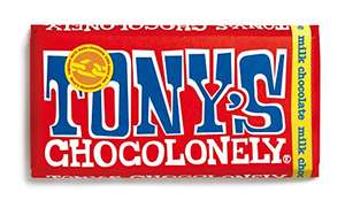 Tony's Chocolonely Milk Chocolate 180g £2.75 Amazon Prime (+£4.49 Non Prime)