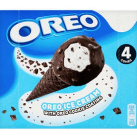 4X110ml - Oreo Ice Cream Cone With Oreo Cookie Coating £1.50 with code + Clubcard Price @ Tesco
