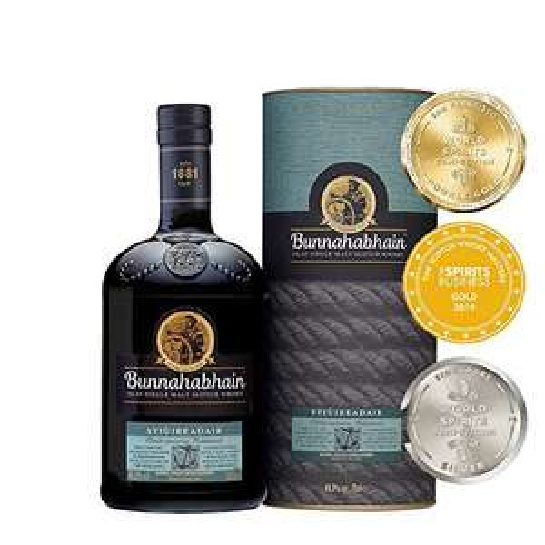 Bunnahabhain Stiuireadair Islay Single Malt Scotch Whisky 70cl £25 Usually dispatched within 1 to 2 months @ Amazon