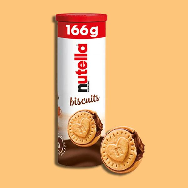 5 x Ferrero Nutella Biscuits 166g Tubes - £9 delivered (Best Before 20/08/2021) @ Yankee Bundles