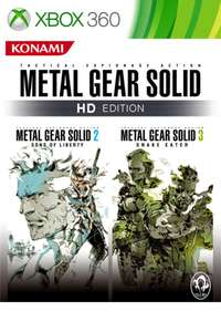 Metal Gear Solid HD Edition 2 & 3 (Xbox) - £7.49 @ Microsoft Store (£2.88 from Brazil)