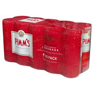 Pimms 10 Can Pack - £6.25 @ Food Warehouse (Cheltenham)