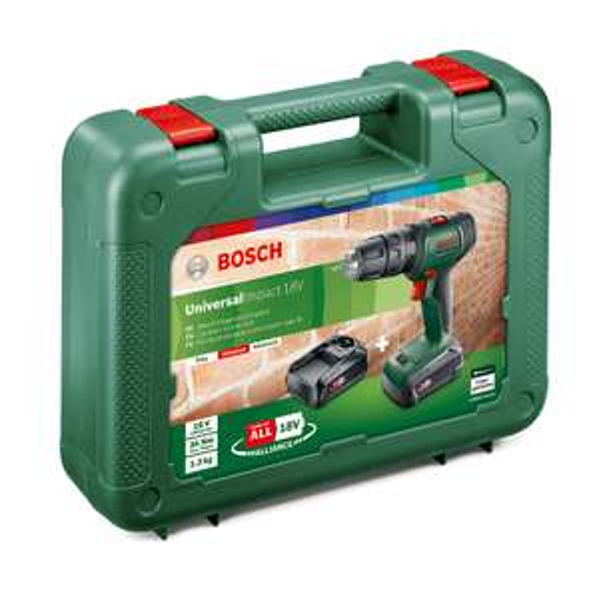Bosch Universal Impact 18V Cordless Combi Drill with 2 x 2.0Ah Batteries £54 Instore B&Q St. Albans