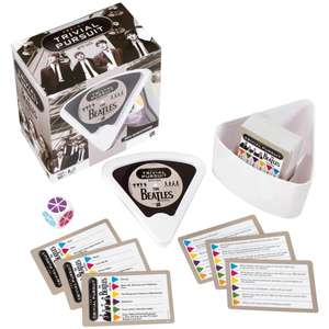 Trivial Pursuit Games eg The Beatles / Friends / Doctor Who Editions only £7.99 delivered with code @ Zavvi