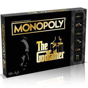 Monopoly Board Game - The Godfather Edition £18.99 delivered with code @ Zavvi