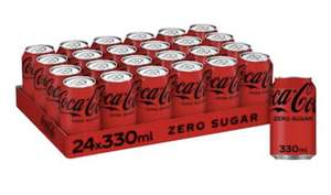 Coca Cola Zero Sugar 24 x 330ml Cans £7 (+£4.49 Non Prime) Usually dispatched within 1 to 2 months @ Amazon