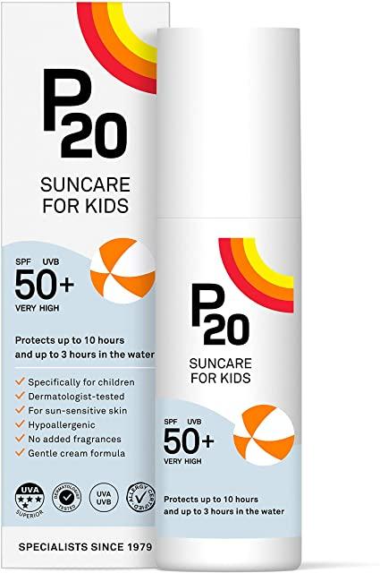 P20 Suncream SPF50+ Kids 200ml £16.66 with code @ Lloyds Pharmacy