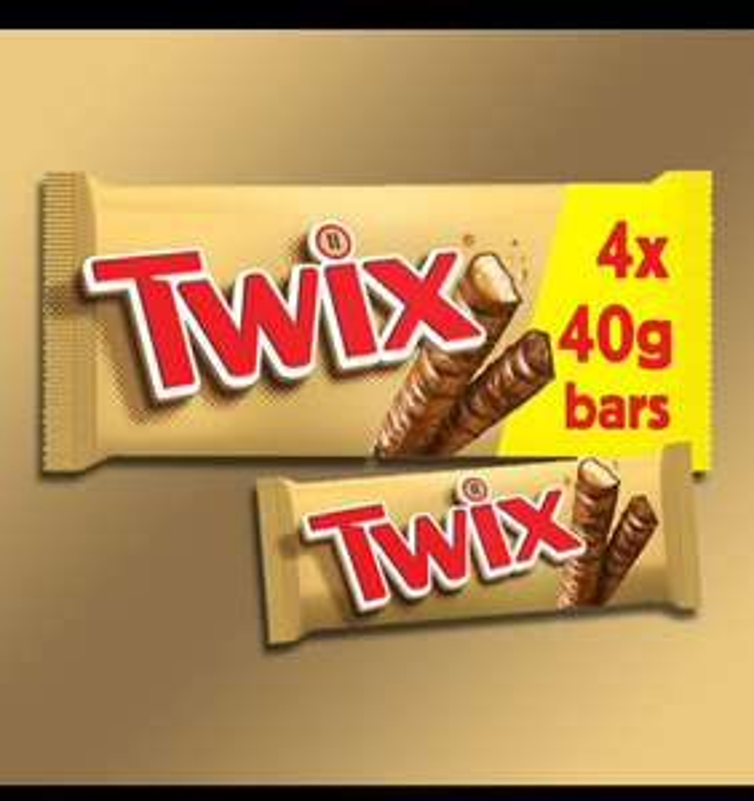96 x 40g Twix chocolate bars £14 Best Before 20/06/2021 @ Yankee Bundles
