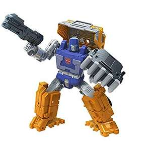 Transformers Toys Generations War for Cybertron: Kingdom Deluxe WFC-K16 Huffer Action Figure £13.99 (+£4.49 nonPrime) Amazon