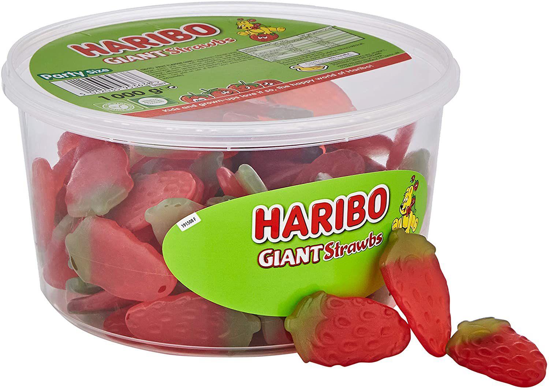 HARIBO Giant Strawberry Bulk Sweets 1kg £4.50 (£4.49 p&p non prime). £3.83/£4.28 s&s @ Amazon