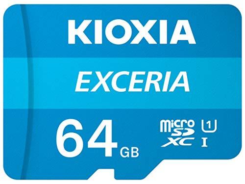 Kioxia LMEX1L064GG2 64GB Exceria U1 Class 10 microSD £5.38 Prime (+£4.49 Non-Prime) @ Amazon