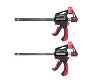 Parkside Quick-Release Clamps £4.99 at Lidl (from Sunday 20th June)