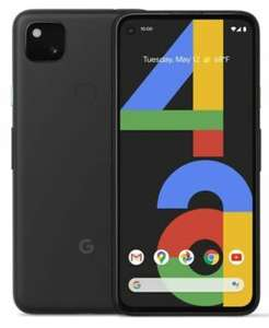 """GOOGLE Pixel 4a 128GB 5.8"""" SIM-free Smartphone Android 10 Just Black - £284.05 with code (Account Specific) @ Currys on eBay"""
