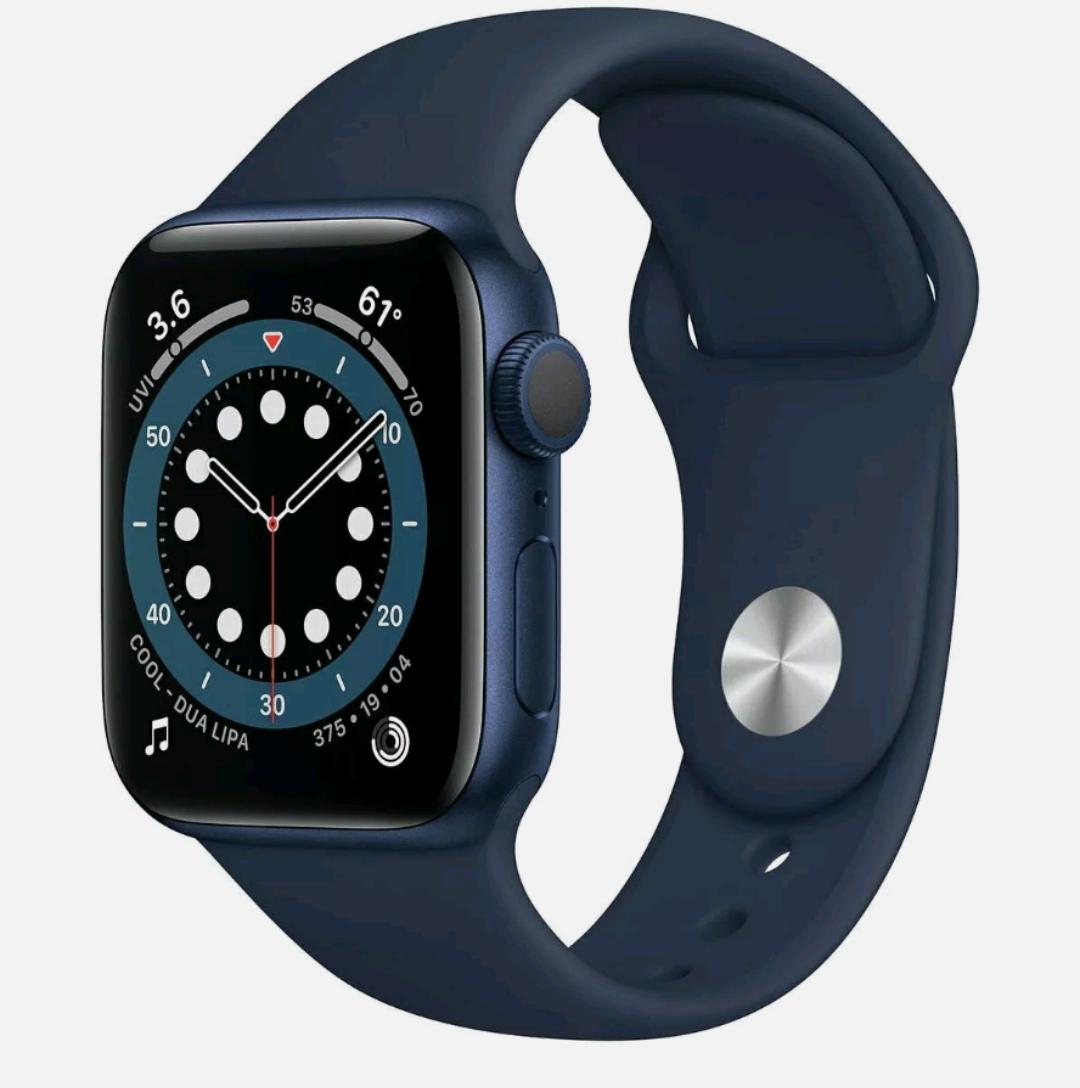 Refurbished Apple Watch Series 6 40mm/44mm GPS Smart Watch Blue Alu Case/Deep Navy Sport Band £247.50 Delivered (UK Mainland) @ Argos / Ebay