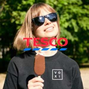 Free £3 box of ice creams from Tesco for Voxi Members
