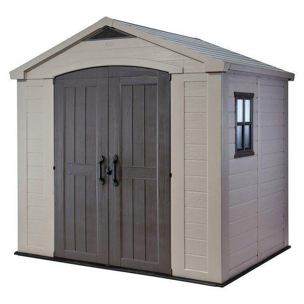Keter Factor Apex garden storage shed 8ft x 6ft - £600 + £6.95 postage Argos