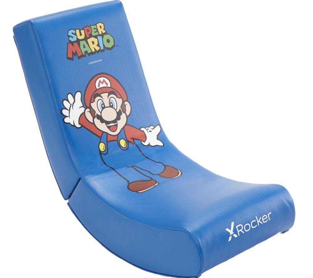 X ROCKER Floor Rocker Gaming Chair - Super Mario £49.97, using code @ Currys PC World