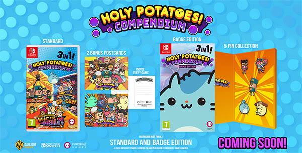 Holy Potatoes! Compendium - Badge Edition - Nintendo Switch Game - £14.59 - Base.com