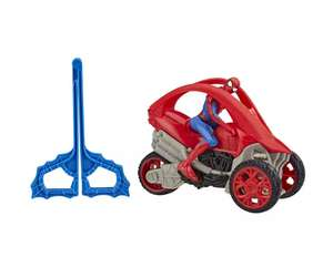 Marvel Spider-Man: Spider-Man Stunt Vehicle for £4 with Click and Collect @ Argos