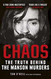 Chaos: The Truth Behind the Manson Murders 99p Kindle Edition @ Amazon
