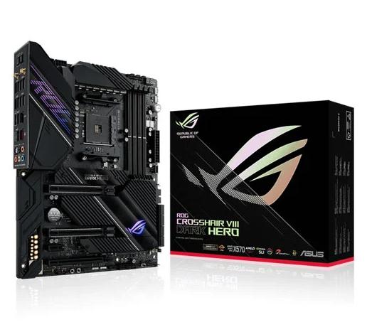 ASUS AMD Ryzen X570 ROG Crosshair VIII Dark Hero £424.99 + £5.48 delivery @ Scan