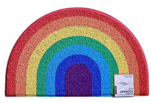 Nicoman Rainbow Halfmoon DoorMat £14.10 (Prime) + £4.49 (non Prime) at Amazon