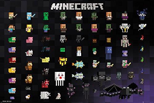 Minecraft Pixel Sprites Maxi Poster 61.91.5cm 65 x 3.5 x 3.5 cm £2.48 (Prime) + £4.49 (non Prime) at Amazon