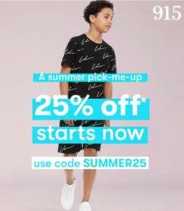 25% off full-priced items at New Look