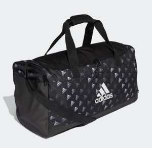 Adidas Linear Graphic Duffel Bag Now £12 with code on app Free delivery with creators club @ Adidas