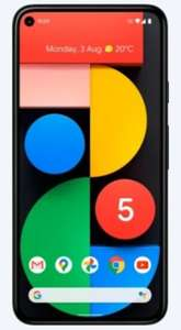 Google Pixel 5 5G 128GB on Vodafone £26 x 24 months + £0 upfront 30GB data, unlimited texts and calls -- £625.00 at Mobiles.co.uk