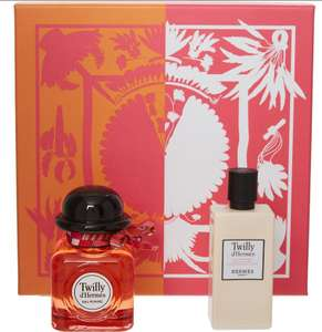 Twilly d'hermes eau poivree £48.00 for a large Gift set at TK Maxx - Click & Collect £1.99 / £3.99 delivery