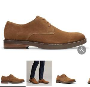 Paulson Plain Tan Suede £26 @ Clark's Free Delivery until Friday